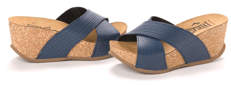 Everlast dámské pantofle 41 modrá