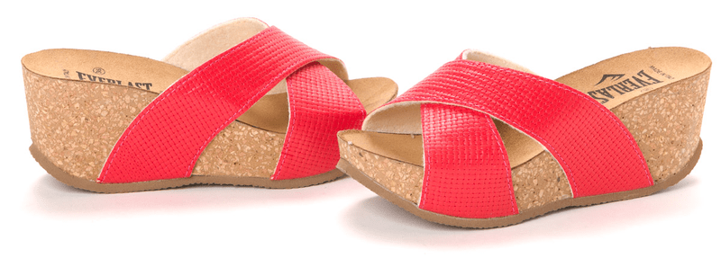 Everlast dámské pantofle 41 červená