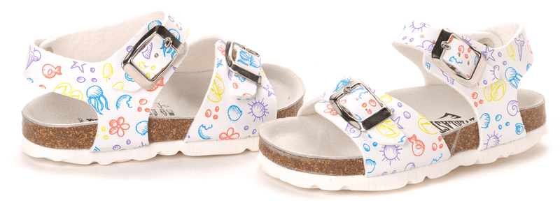 Everlast dívčí sandály 27 bílá