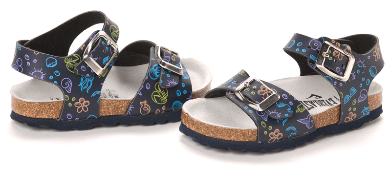 Everlast dětské sandály 26 modrá