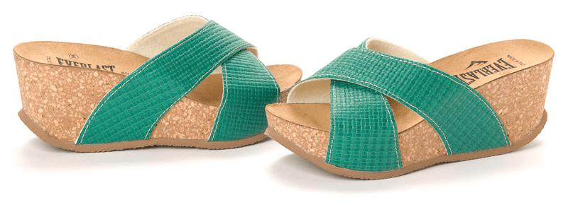 Everlast dámské pantofle 41 zelená