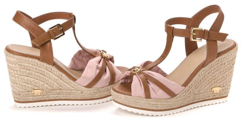 Tom Tailor dámské sandály 41 růžová