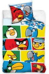 Carbotex Angry Birds Check Blue Ágyneműhuzat