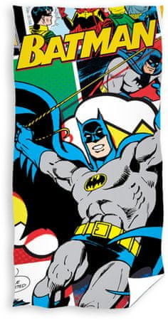 Carbotex brisača Batman - Komiks 70x140 cm