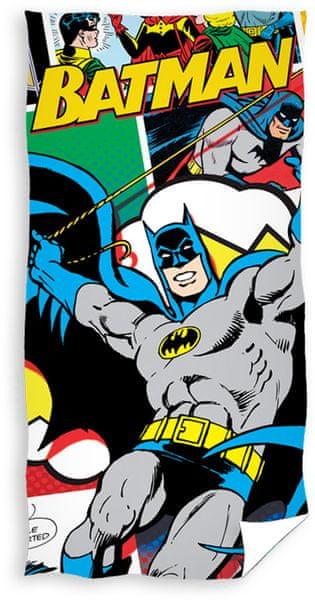 Carbotex Osuška Batman - Komiks 70x140 cm
