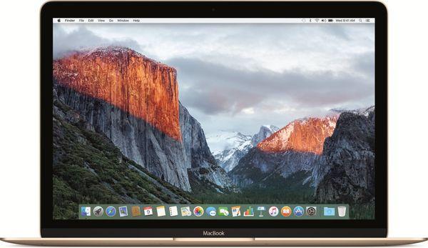 Apple Macbook 12 mlhe2sl/A R.2016 Gold, Sk Klávesnice