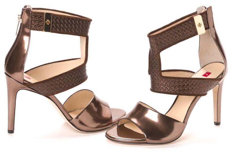 Högl dámské sandály 40 hnědá