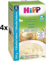 HiPP BIO obilná kaša ryžová 4x350g