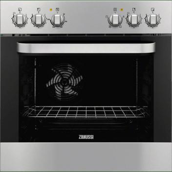 Zanussi ZZU20309XB Aláépíthető multifunkciós sütő a ZEV6046FBA főzőlaphoz