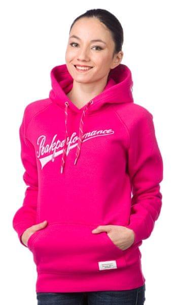 Peak Performance dámská mikina s kapucí S růžová