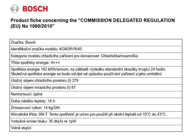 Bosch KGN39VW45