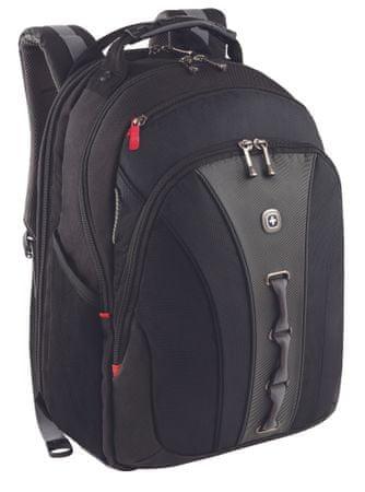 """Wenger LEGACY taška na notebook 16"""", čierny / šedivý"""