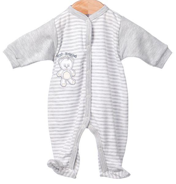 Krtek kojenecké dupačky 92 šedá