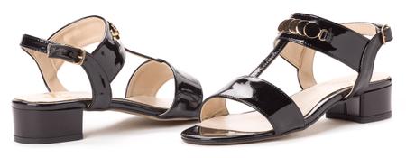 PAOLO GIANNI dámské sandály 39 černá