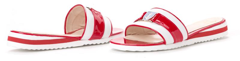 PAOLO GIANNI dámské pantofle 41 červená