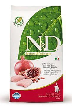 N&D PRIME CAT KITTEN Chicken & Pomegranate 1,5 kg