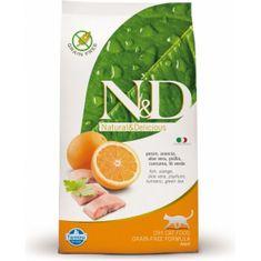 N&D Grain Free CAT Adult Fish & Orange 5 kg