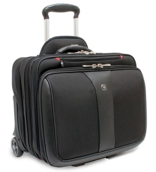 """Wenger PATRIOT cestovní kufr s prostorem pro notebook 17"""", černá"""