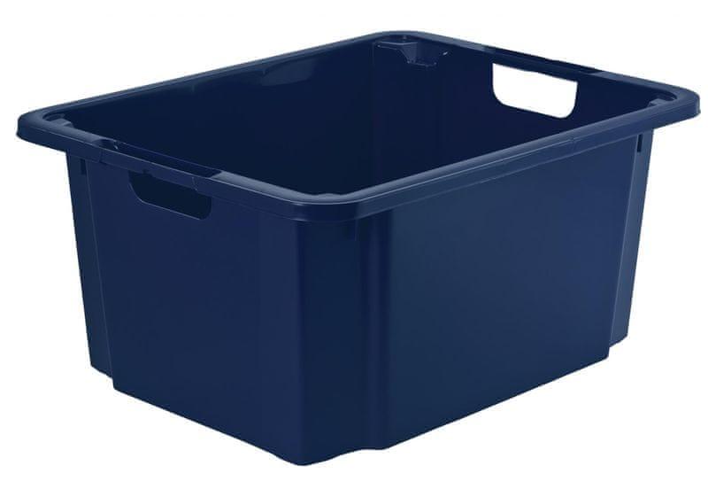 Rotho Úložný box Reverso 46 l, modrý
