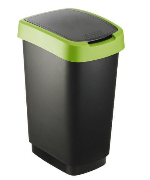 Rotho Odpadkový koš Twist 25 l zelená