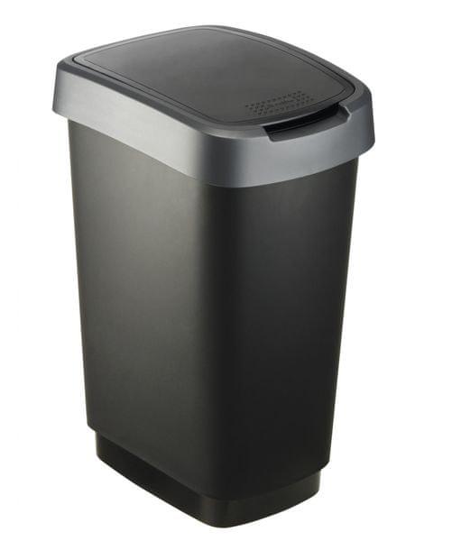 Rotho Odpadkový koš Twist 25 l šedá