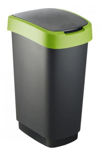 Rotho Odpadkový koš Twist 50 l zelená