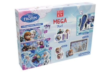 Clementoni igre Mega Edukit Frozen 7 v 1 (13928)