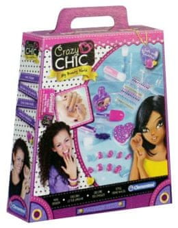 Clementoni Make-up nohti Crazy Chic (15965)