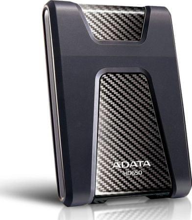 """A-Data HD650 1TB / Externí / USB 3.0 / 2,5"""" / Black (AHD650-1TU3-CBK)"""