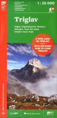 Triglav 1: 25 000 (angleško/ slovenska karta)
