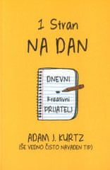 Adam J. Kurtz: Ena stran na dan (kreativni dnevnik)