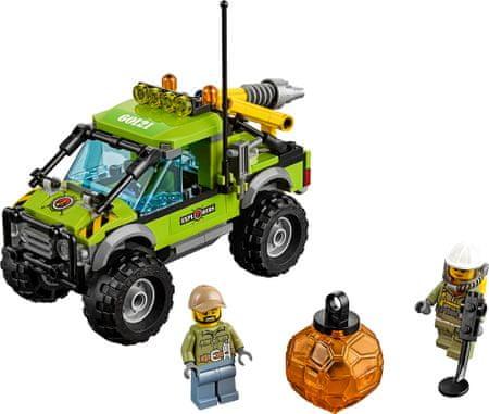 LEGO City 60121 Vulkan raziskovalni kombi