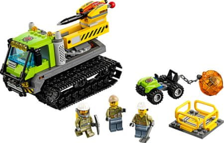 LEGO City 60122 Vulkan raziskovalno vozilo