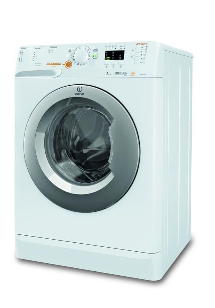 Indesit pračka se sušičkou XWDA 751480X WSSS EU