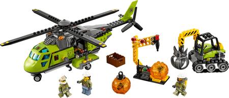 LEGO City 60123 Vulkan tovorni helikopter