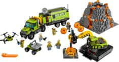 LEGO® City 60124 Baza za istraživanje vulkana