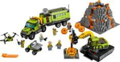 LEGO® City 60124 Wulkan baza naukowców