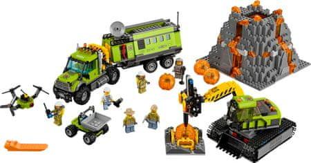 LEGO® City 60124 Sopečná základna průzkumníků