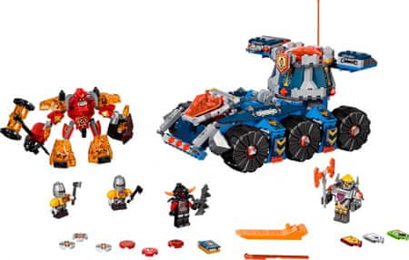 LEGO Nexo Knights 70322 Axlův věžový transportér - rozbaleno
