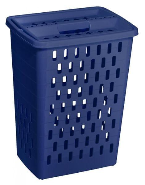 Rotho koš na špinavé prádlo Sunshine 40 l modrá