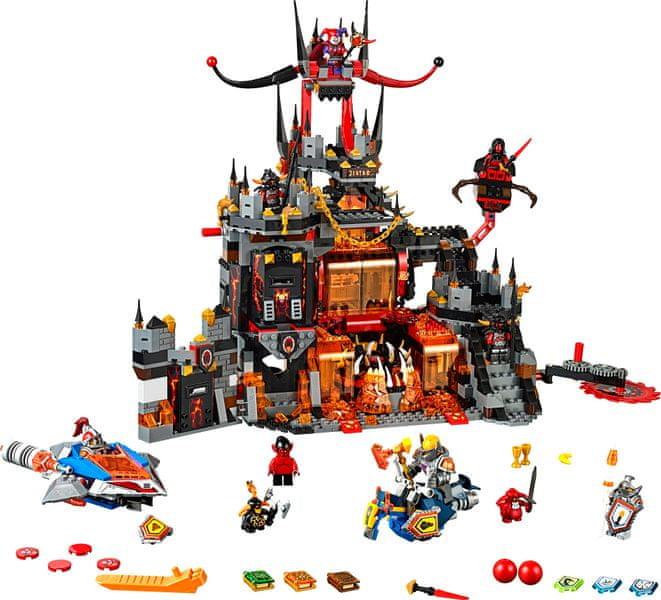 LEGO® Nexo Knights 70323 Jestrovo sopečné doupě