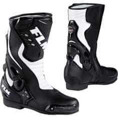 FLM motoristični športni čevlji 1.0, moški, črno/beli