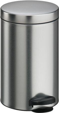 Meliconi Koš 20 l s vyjímatelnou vložkou matná ocel