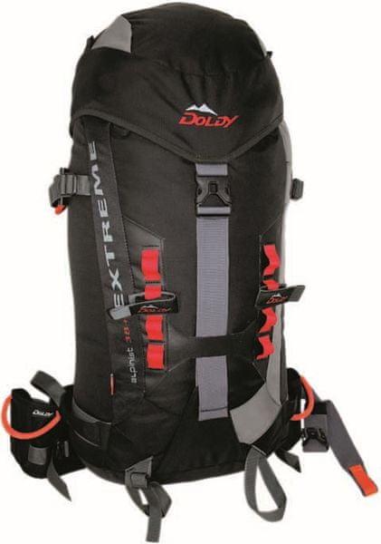 Doldy Alpinist Extreme 38+ Šedá/černá