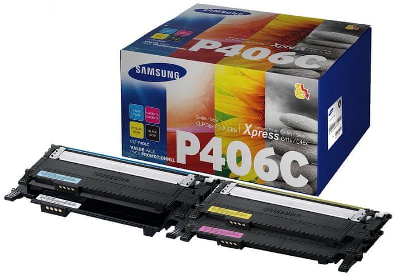 Samsung CMYK sada CLT-P406C/ELS