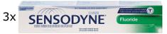 Sensodyne zubna pasta Fluoride, 3 x 100 ml