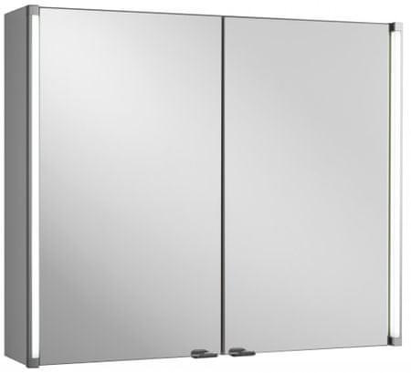 Fackelmann omarica z ogledalom in LED lučjo, 81 x 67 cm