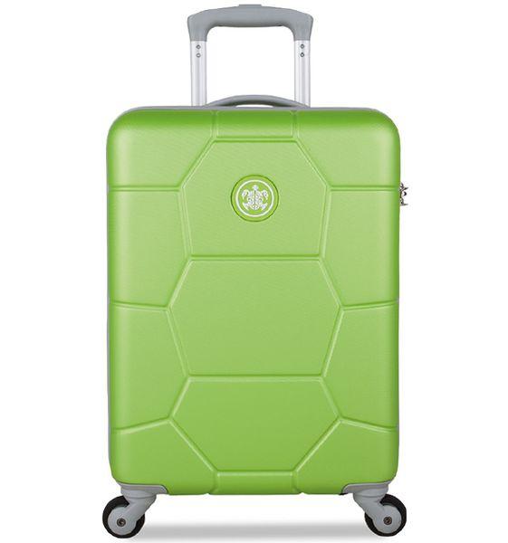 SuitSuit Cestovní kufr Caretta S Bright Lime