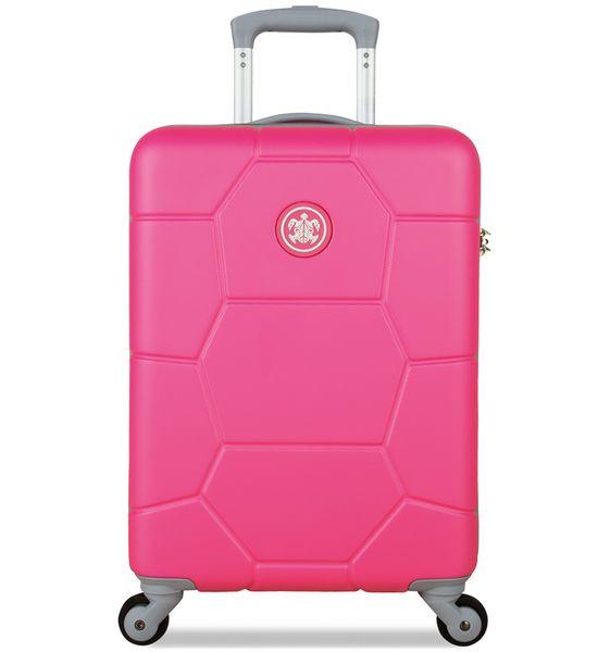 SuitSuit Cestovní kufr Caretta S Shocking Pink