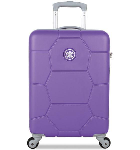 SuitSuit Cestovní kufr ABS Caretta S Purple Heart
